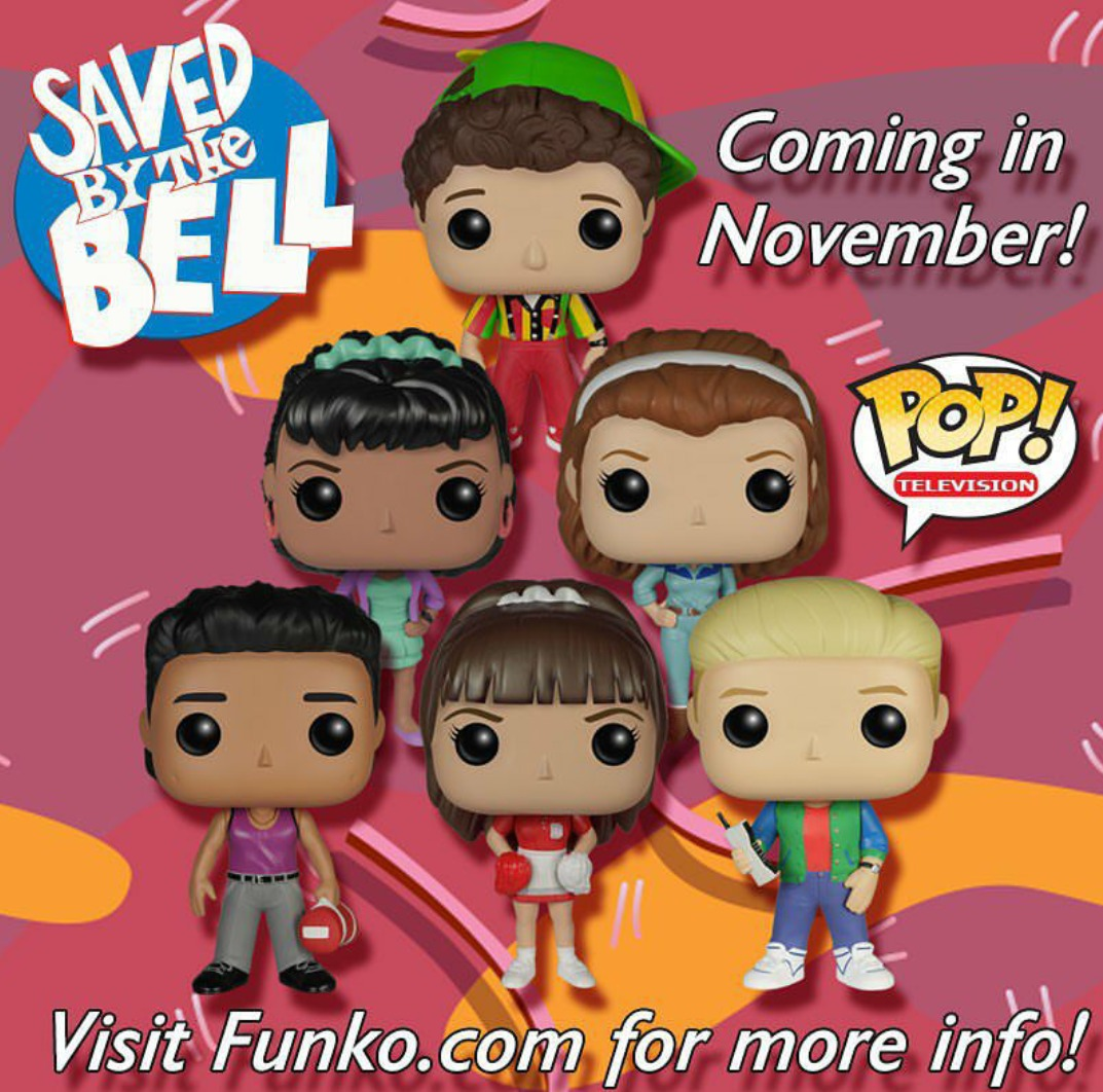 Saved By The Bell Funko Pops Coming This November Funko