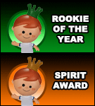 Rookie of The Year & Spirit