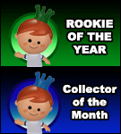 Rookie Of The Year & Collector Of The Month